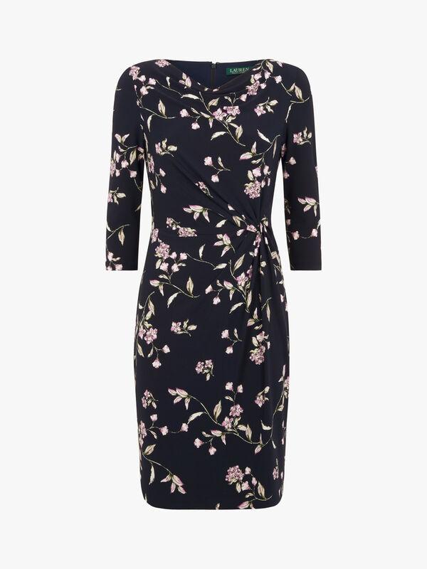 Trava 3/4 sleeve day dress
