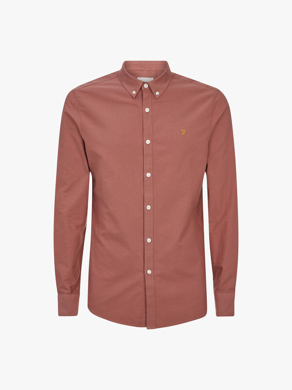 Brewer Slim Fit Oxford Shirt