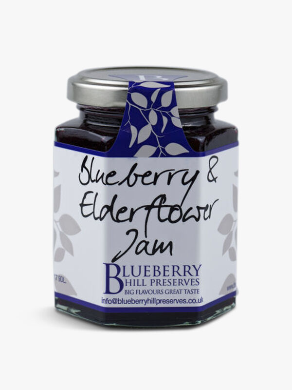 Blueberry & Elderflower Jam 225g