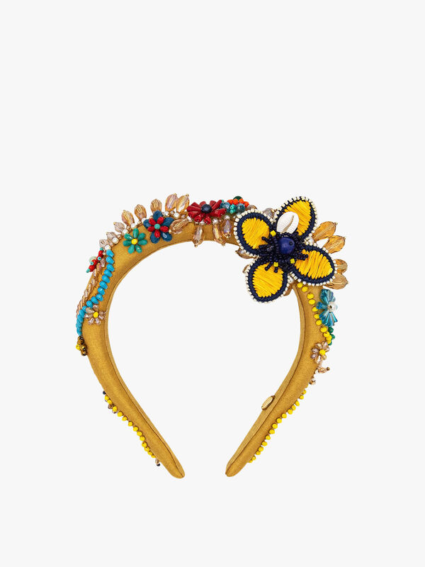 Canaria Beaded Headband