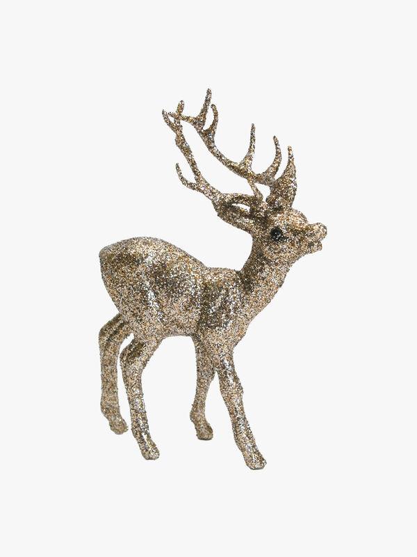 Reindeer Glitter Decoration