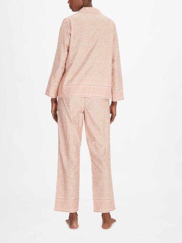 Entrechats Cotton Long Sleeve Button Through PJ Set