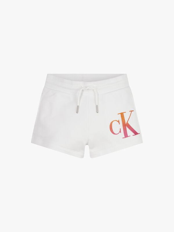 Gradient Logo Shorts