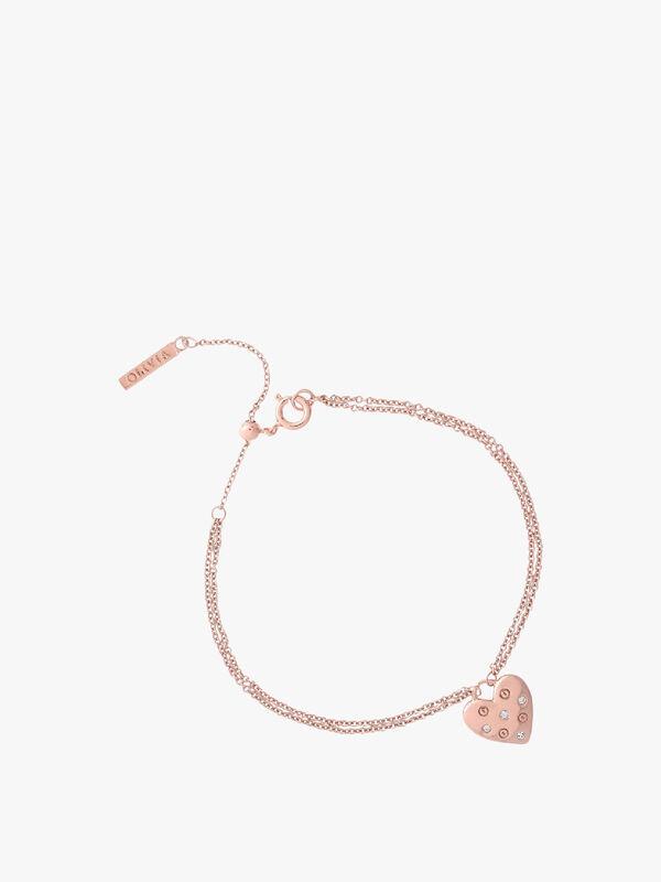Screw Heart Bracelet