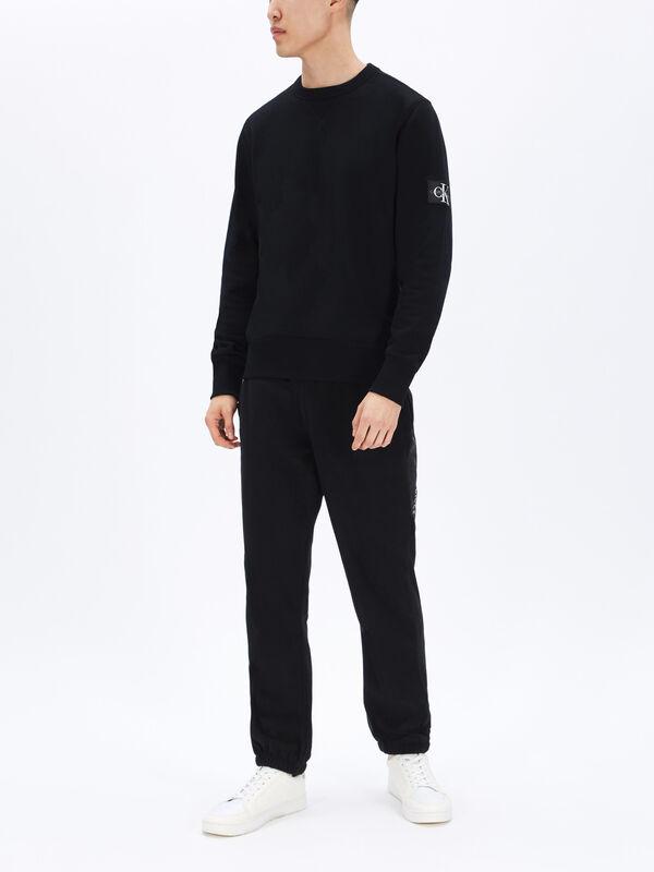 Monogram Sleeve Sweatshirt