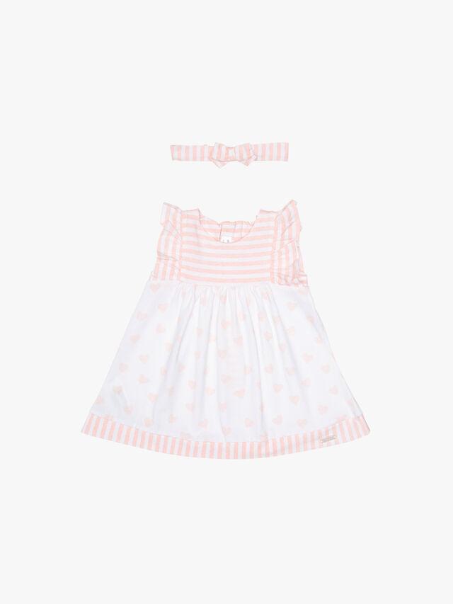 Hearts & Stripe Sleeveless Dress