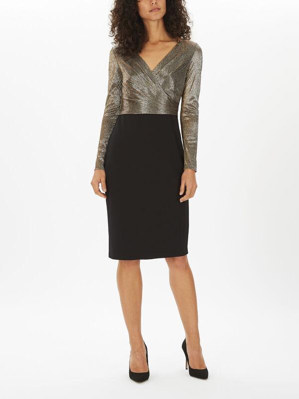 Alexie Long Sleeve Cocktail Dress