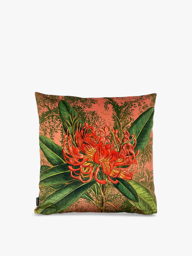 Coral Nutans Complete Cushion