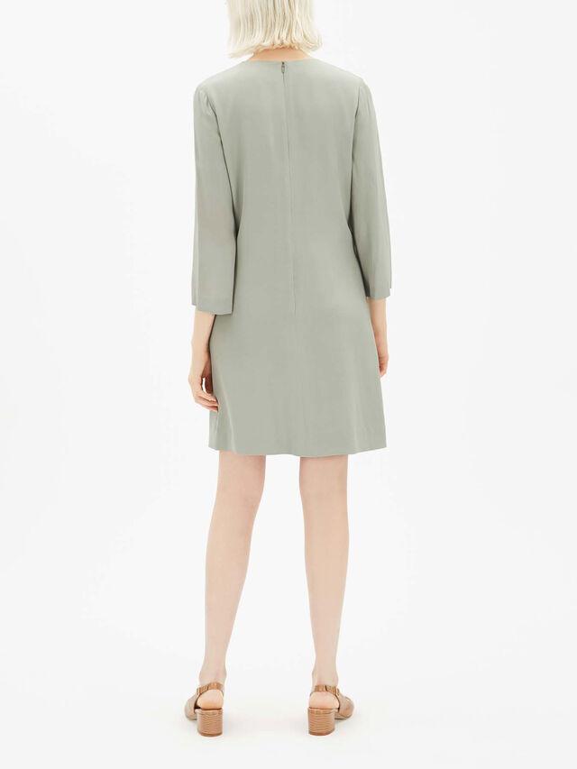 Short Button Detail Dress