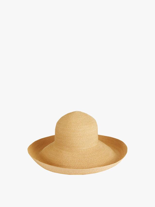 Tiffany Brim Cloche Sun Hat