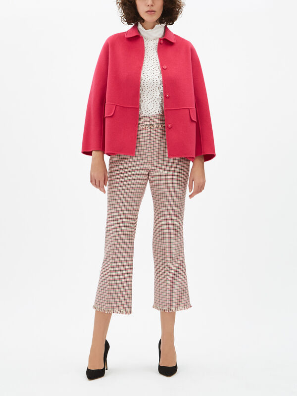 Baiardo Check Cropped Pant