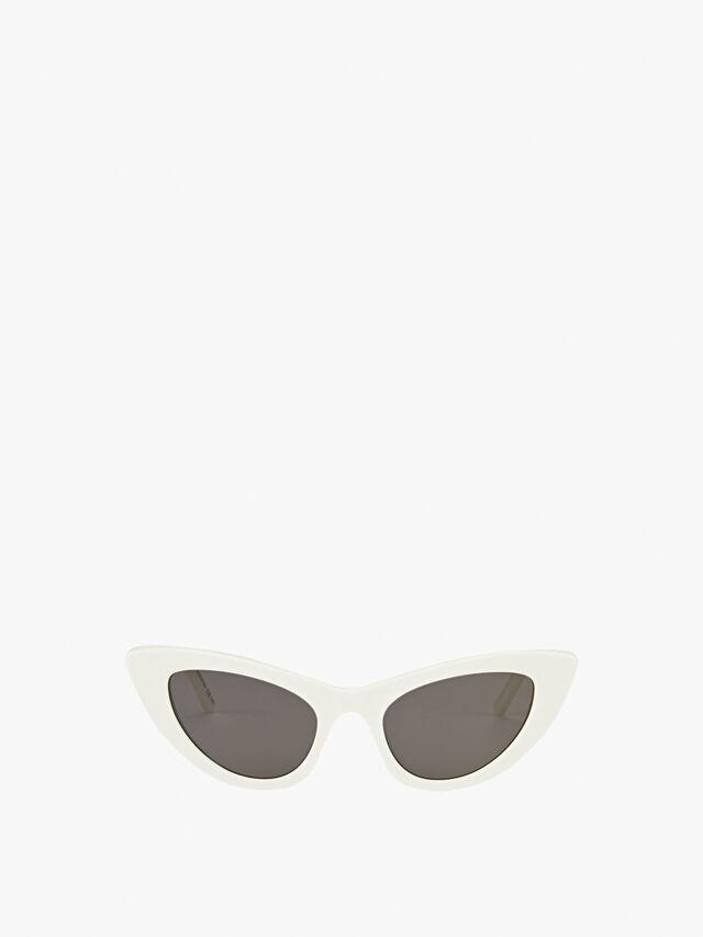 Womens Acetate Lily Skinny Cat-Eye