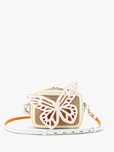 Flossy Butterfly Camera Bag