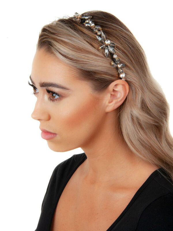 Thin 3D Beaded Headband