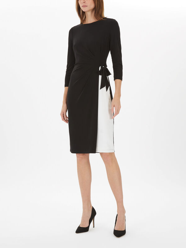 Robbyann 3/4 Sleeve Day Dress