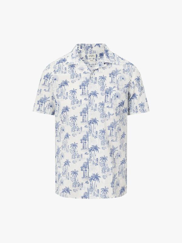 Slam Elvis Print Shirt