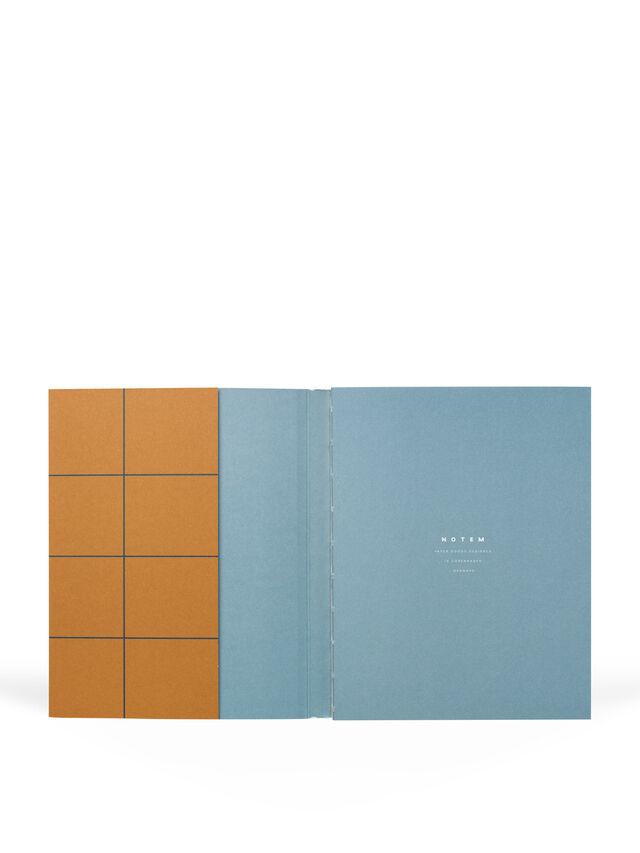 Uma Rust Grid Medium Notebook Dot Pages