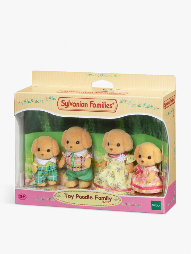 Toy Poodle Family