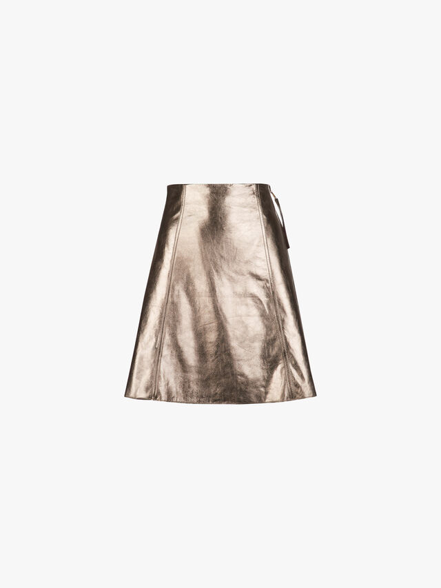 Denver Leather Skirt