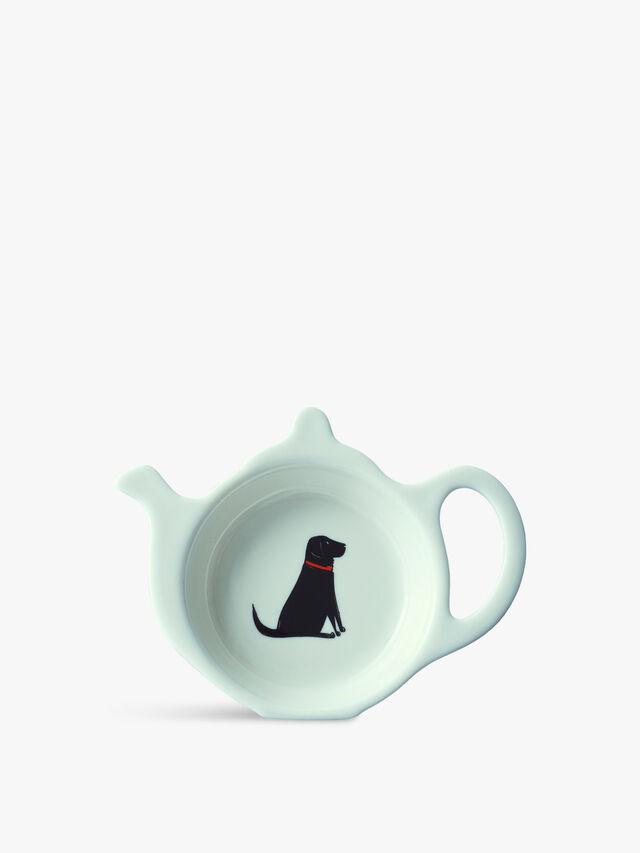 Teabag Dish Black Labrador