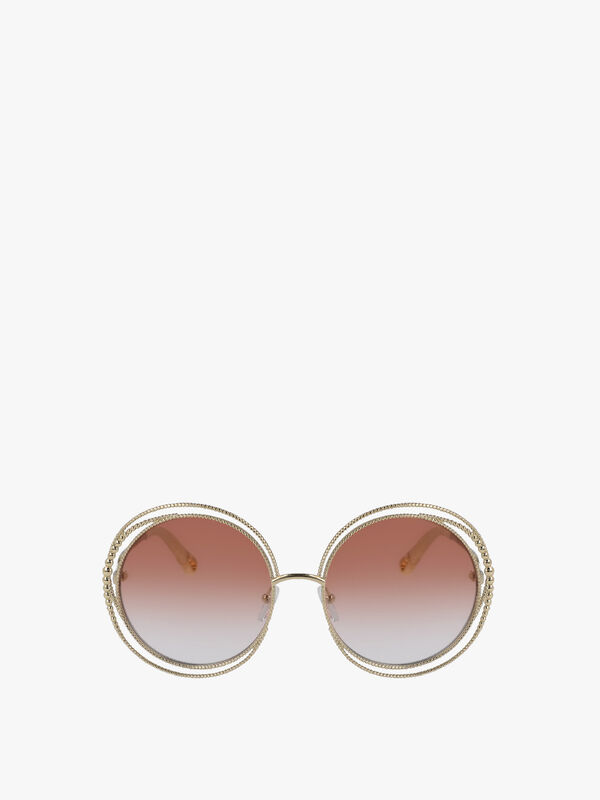 Carlina Round Edge Sunglasses