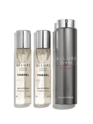 ALLURE HOMME SPORT EAU EXTRÊME Eau De Parfum Refillable Travel Spray 3x20ml