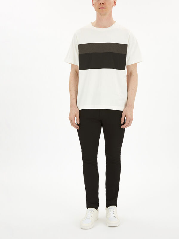MHL Two Tone Print T-Shirt