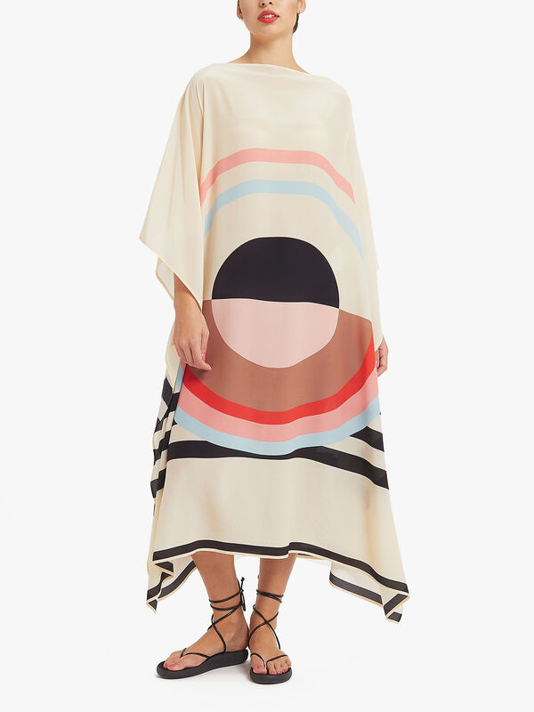 Emilie Long Scarf Dress