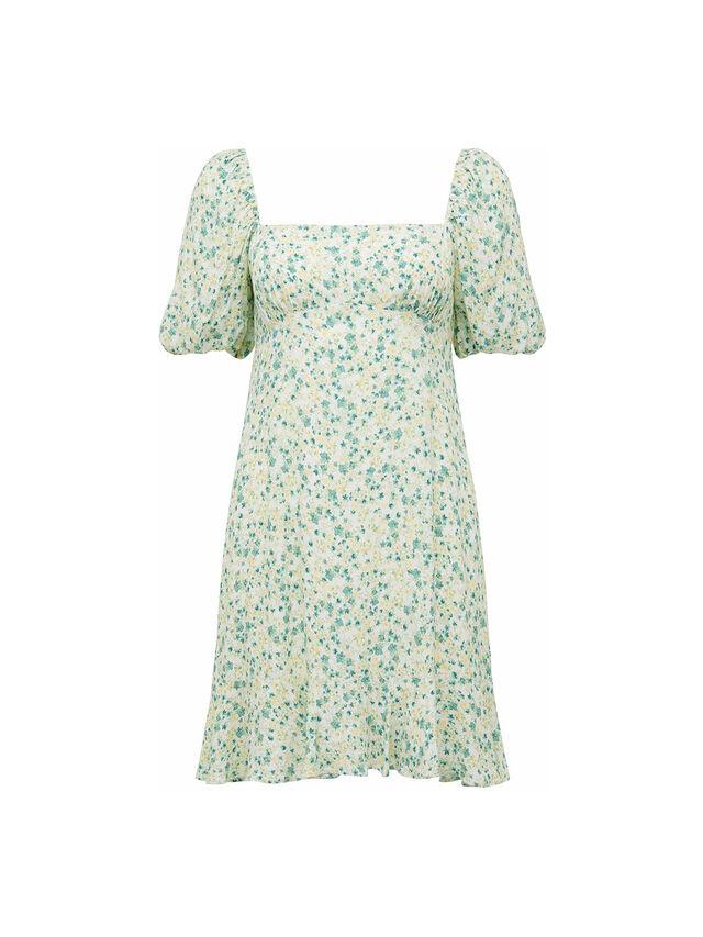 Veronica Puff Sleeve Sun Dress