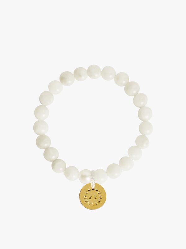 Moonstone Gold Maternity Bracelet