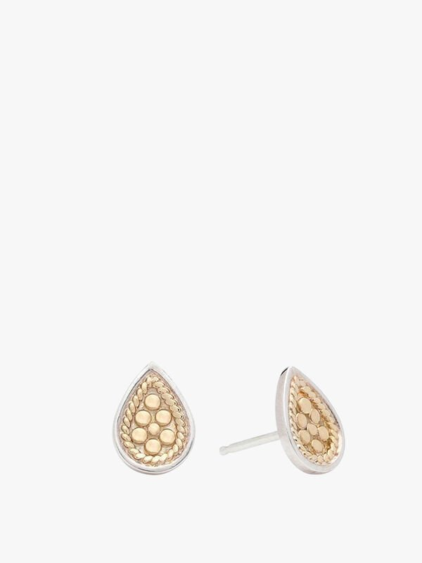 Teardrop Stud Earrings