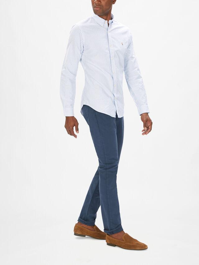 Oxford Long Sleeve Slim Fit Shirt
