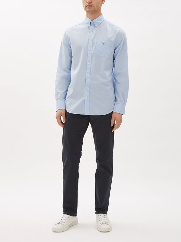 Regular Fit Broadcloth Shirt
