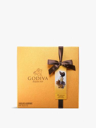 Gold Chocolate Box 24 Pieces 290g