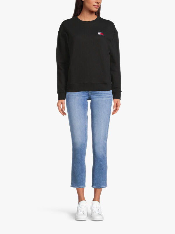 Relaxed Tommy Badge Sweatshirt
