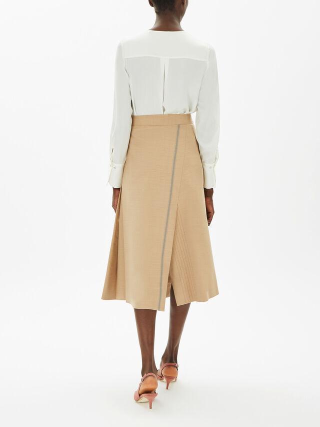 Gambo Front Stripe Detail Skirt