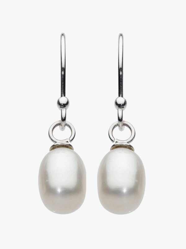 Oval Freshwater Pearl Drops