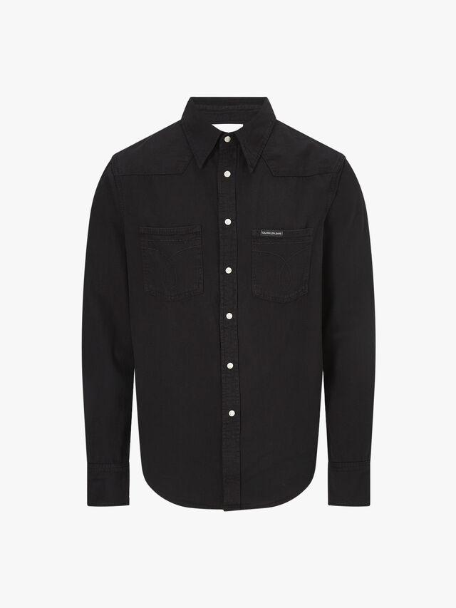 Denim Omega Shirt