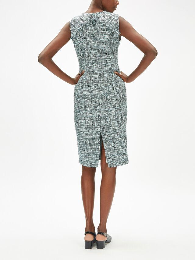 Tweed Pencil Dress