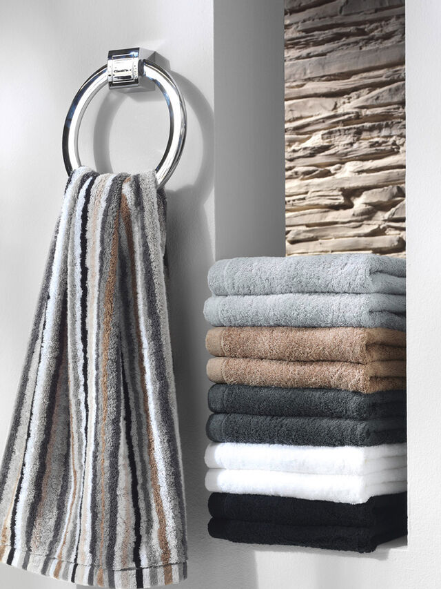 Lifestyle Stripe Guest Towel