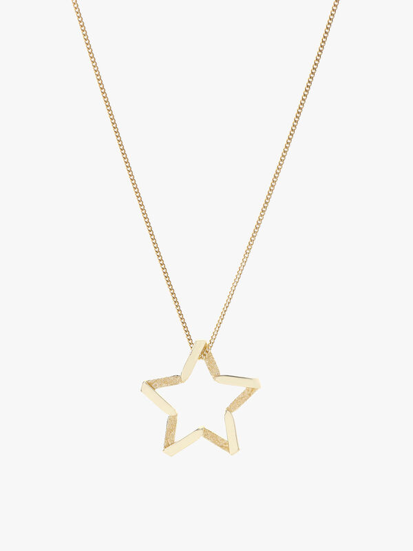 Exclusive Star Facing Necklace