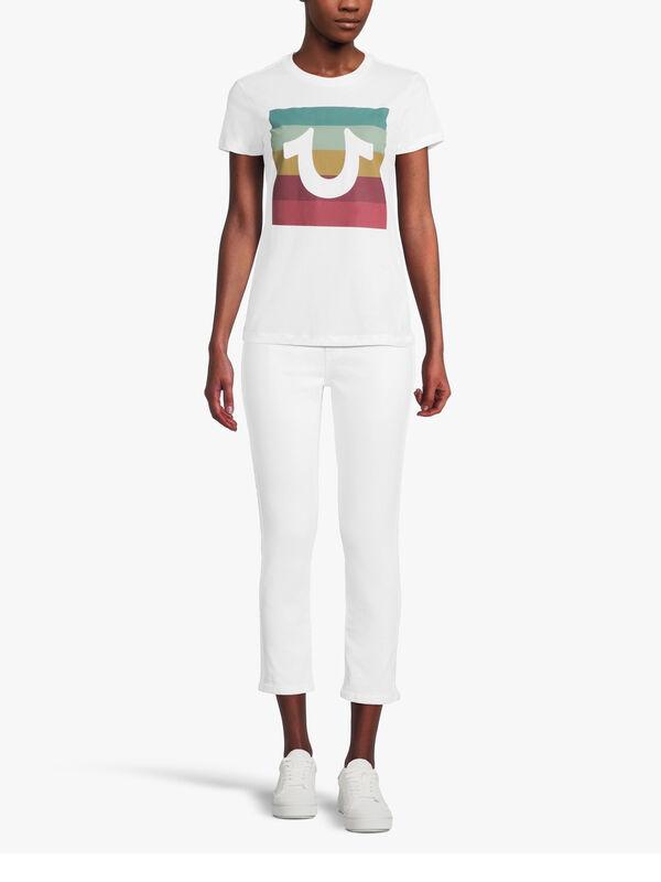 Multi Colour Slim T-Shirt