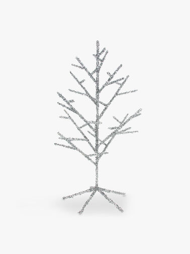Tinsel Wire Christmas Tree