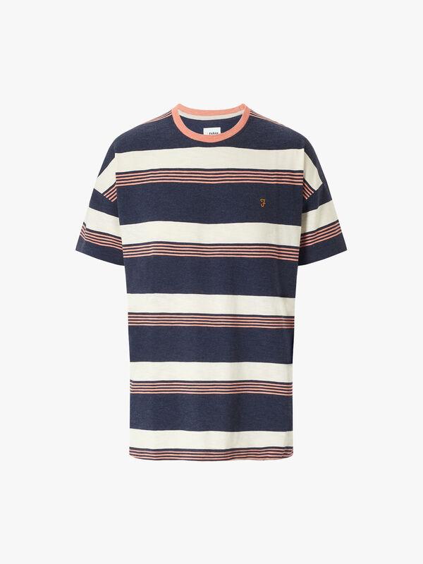 Hood Stripe T-Shirt