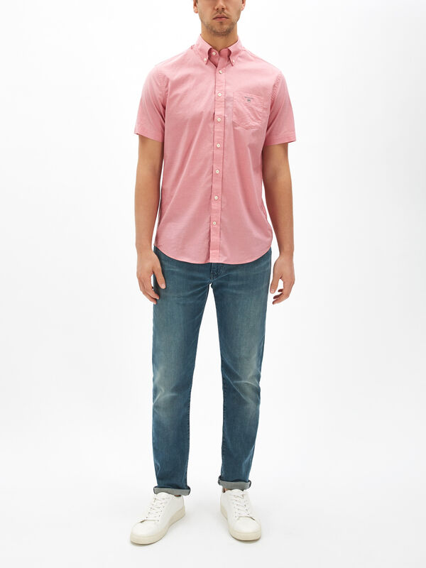 Short Sleeve Broadcloth Shirt