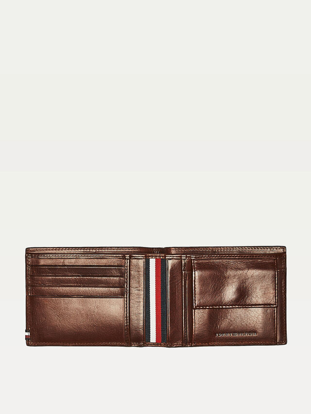 Polished Leather Extra Credit Card & Coin Holder Waller