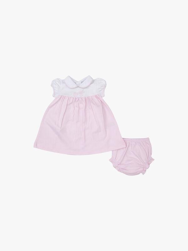 Pique Bunny Dress Set