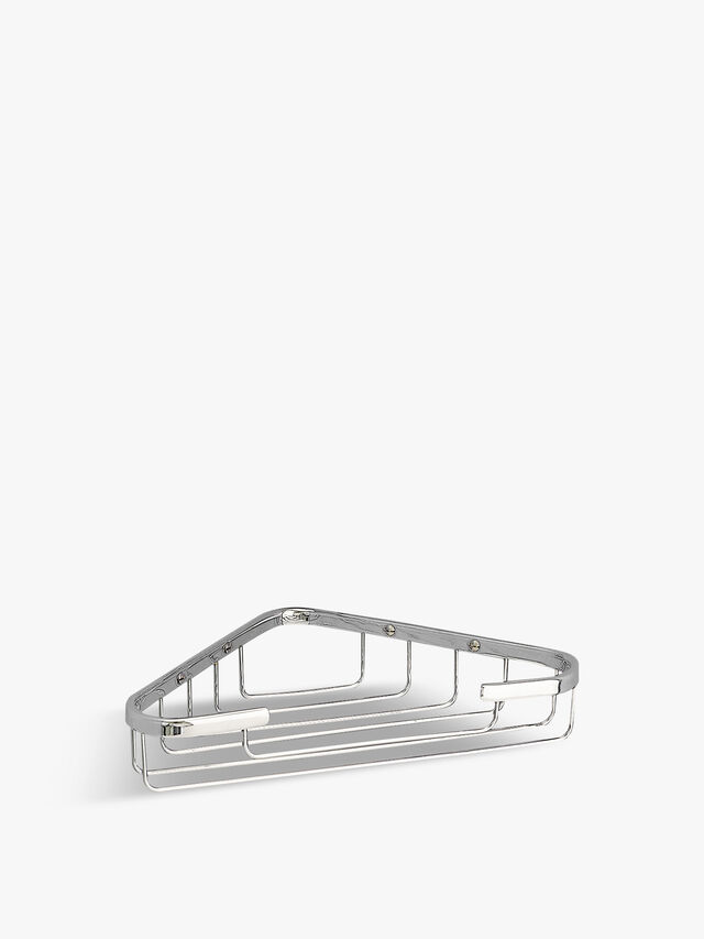 Classic Corner Soap Basket