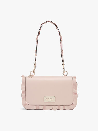 Large Shoulder Frill Bag