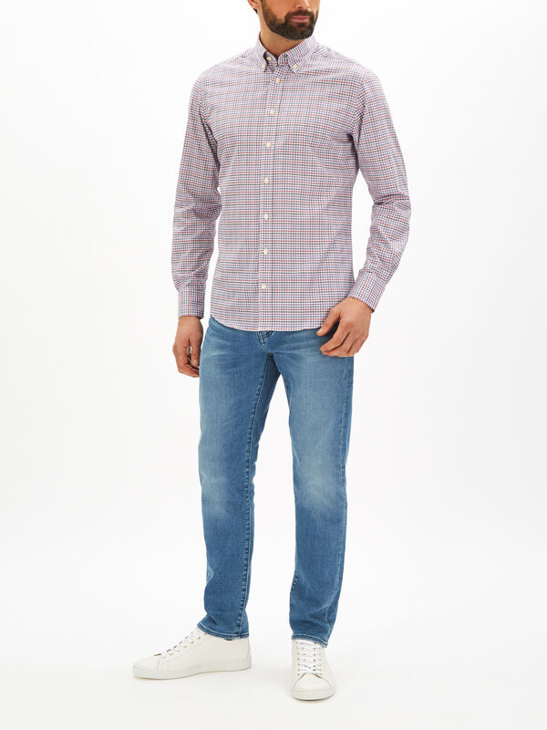Gingham Multi Twill Shirt